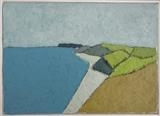 Above Soar Mill Cove by Richard Burt, Painting, Oil on canvas