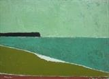 South Milton Sands III by Richard Burt, Painting, Acrylic on canvas