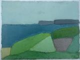 Start Point from Beesands by Richard Burt, Painting