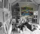 Studio view by Richard Burt, Illustration